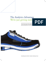 Deloitte Analytics Analytics Advantage Report 061913