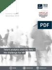 Talent Analytics and Big Data