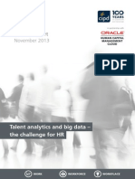 Talent Analytics and Big Data