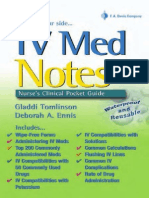 Davis-IV Med Notes