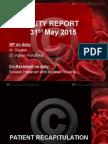 Duty Report 31 Mei