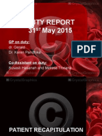 Duty Report 31 Mei