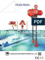 Electric Chain Hoist 950102 BB ECH Series Eng