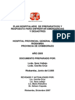 Plan Hospitalario No 3