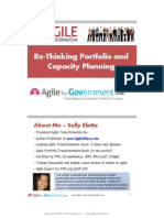 ReThinking Portfolio and Capacity Planning Gov