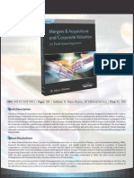 Mergers & Acquisitions and Corporate Valuation