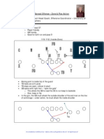 Zone and Play Action From the Spread - Minnesota - FootballCoach.net