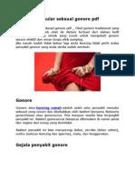 Penyakit Menular Seksual Gonore PDF
