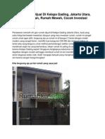 Iklan Rumah Dijual Di Kelapa Gading, Jakarta Utara, Rp. 5 Miliar an, Rumah Mewah, Cocok Investasi - www.rumahku.com