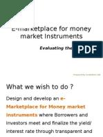 e-auction of commercial paper