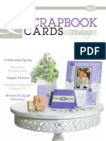 Scrapbook Cards today