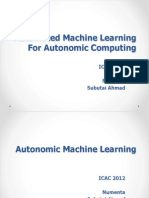 Automated Machine Learning for Autonomic Computing