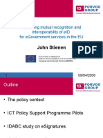 Egovernment John Stienen