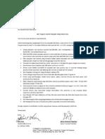 Program Insentif Sales Distributor Tahap Kedua 2015