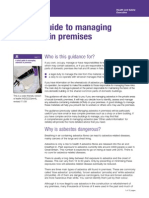 HSE a Short Guide to Managing Asbestos in Premisis