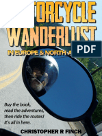 Motorcycle Wanderlust in Europe and North America (Paperback)