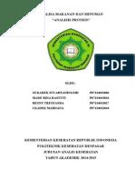 Analisis Protein Klp 3