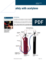 Working Safely With Acetylene