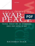 Richard Tuck the Rights of War and Peace