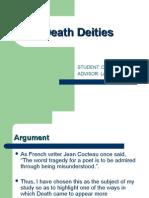 Atestat Engleza Death Deities