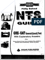 nts gat general Test preparation guide book PDF Free Download