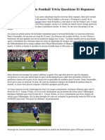 Coupe Du Monde De Football Trivia Questions Et Reponses