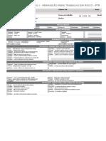 Pi-pr-034 Anexo i Permissão Para Trabalho Em Risco Ptr Rev01