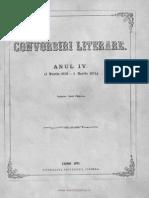 Convorbiri Literare 1 Oct 1870