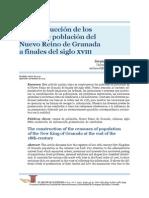 2. Como Se Construyeron Los Padrones de Poblacion de La Nueva Granada s. XVIII.-libre