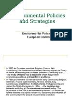 Environmental Policies and Strategies