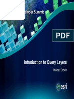 Intro to Query Layers Demo Theater