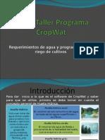 Curso-Taller Programa CropWat