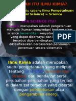 Apakah Itu Ilmu Kimia