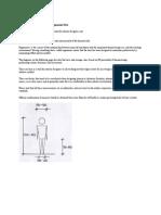Basic Anthropometric Data and Ergonomic Data