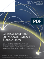 AACSB Globalization of Management Education Task Force Report - 2011