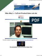 116092636 CalTech Warlock Rules Web Site