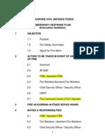 Evacuation Guidelines - 8 Storeys and Below