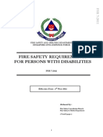Fire Safety Requirements for Persons With Disabilities
