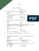 Applications of Derivative