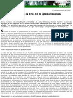 África en La Era de La Globalización