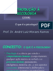 Introdução à Psicologia - 2008 (1)