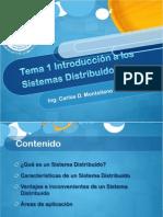 Tema 1 Introduccion a Los Sistemas Distribuidos