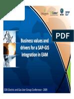 Sap Gis Esri-sap Integration for Utilities Gisconnex Experience