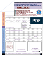 Application Form DMAT - 2015