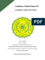 Laporan Praktikum Teknik Kimia III Bilangan Saponifikasi