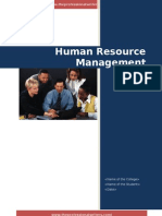 Human Resource Analysis