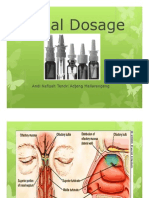 Nasal Dosage