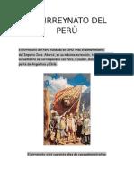 El Virreynato Del Perù