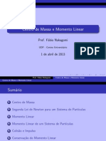RESUMO - Centro de Massa e Momento Linear
