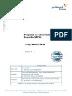 Programa de Observación Preventiva de Seguridad (OPS)